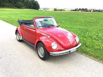 Renting out: VW Käfer Cabrio Veteran