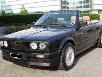 Location: BMW 325i  E30 Cabrio Veteran